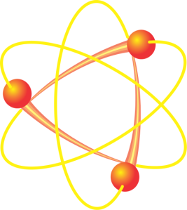 This is absolutely, 100% not what an atom looks like